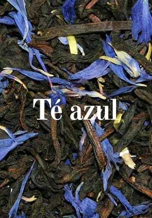 Té azul