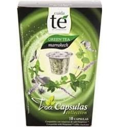 Cápsulas nespresso de té verde Marrakech