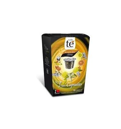 Cápsulas nespresso té negro Citrus
