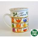 taza te con filtro teapots