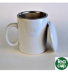 taza blanca barata