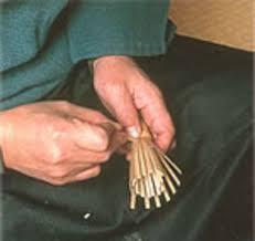 batidor bambu artesanal